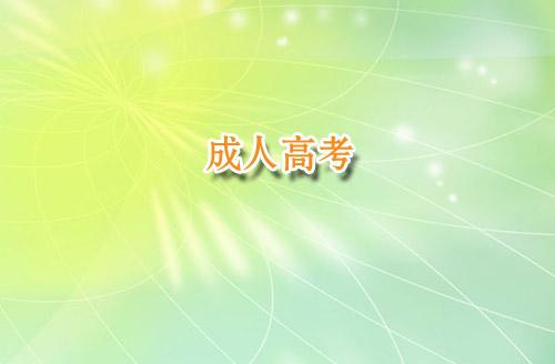 2020年武汉成人高考考试科目
